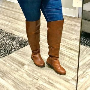 Torrid wide calf over the knee boot size 9